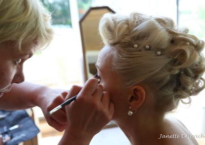 Make up für Hochzeit